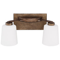 Reid 2 Light 18 inch Rustic Vanity Wall Light