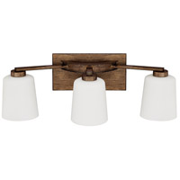 Capital Lighting 112031RT-323 Reid 3 Light 24 inch Rustic Vanity Wall Light