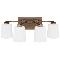 Capital Lighting 112041RT-323 Reid 4 Light 24 inch Rustic Vanity Wall Light