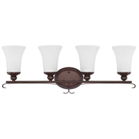 HomePlace 4 Light 31 inch Bronze Vanity Wall Light