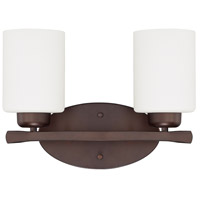 HomePlace 2 Light 13 inch Bronze Vanity Wall Light