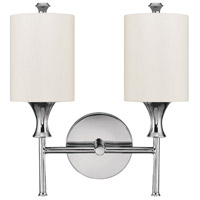 Studio 2 Light 13 inch Polished Nickel Sconce Wall Light