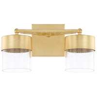 Regan LED 14 inch Capital Gold Vanity Wall Light