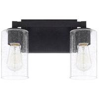 Ravenwood 2 Light 13 inch Black Iron Vanity Wall Light
