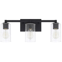 Ravenwood 3 Light 23 inch Black Iron Vanity Wall Light