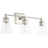 Signature 3 Light 23 inch Polished Nickel Vanity Wall Light