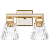 Capital Lighting 123021CG-436 Abella 2 Light 14 inch Capital Gold Bath Vanity Wall Light