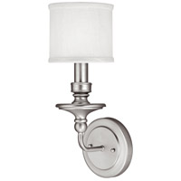 Capital Lighting Midtown 1 Light Sconce in Matte Nickel 1231MN-451