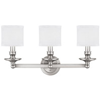 Capital Lighting Loft 3 Light Vanity in Matte Nickel 1238MN-451