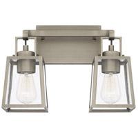 Capital Lighting 125521AN-448 Kenner 2 Light 15 inch Antique Nickel Bath Vanity Wall Light