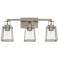 Capital Lighting 125531AN-448 Kenner 3 Light 24 inch Antique Nickel Bath Vanity Wall Light