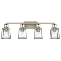 Capital Lighting 125541AN-448 Kenner 4 Light 34 inch Antique Nickel Bath Vanity Wall Light