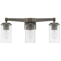 Capital Lighting 125931UG-435 Zac 3 Light 23 inch Urban Grey Bath Vanity Wall Light