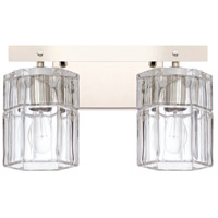 Capital Lighting 127621PN-458 Sloane 2 Light 14 inch Polished Nickel Bath Vanity Wall Light