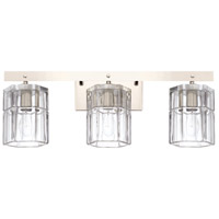 Capital Lighting 127631PN-458 Sloane 3 Light 24 inch Polished Nickel Bath Vanity Wall Light