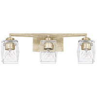 Capital Lighting 128131WG-459 Karina 3 Light 24 inch Winter Gold Bath Vanity Wall Light