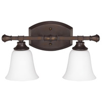 Capital Lighting Belmont 2 Light Vanity Light in Burnished Bronze 1332BB-242