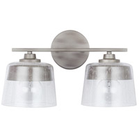 Capital Lighting 138221WY Decker 2 Light 16 inch Washed Grey Vanity Wall Light