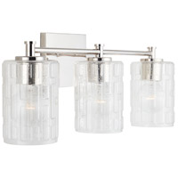 Capital Lighting 138331PN-491 Independent 3 Light 23 inch Polished Nickel Vanity Wall Light