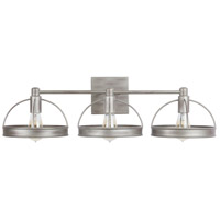 Capital Lighting 138431WY Independent 3 Light 30 inch Washed Grey Vanity Wall Light