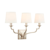 Capital Lighting 138731WG-698 Ophelia 3 Light 25 inch Winter Gold Vanity Wall Light