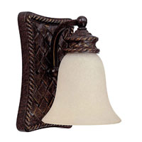 Capital Lighting Chatham 1 Light Vanity in Weather Brown with Mist Scavo Glass 1391WB-252 photo thumbnail