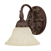Capital Lighting Signature 1 Light Sconce in Tortoise 1501TS-247