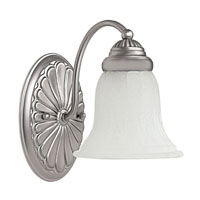 Capital Lighting Signature 1 Light Sconce in Matte Nickel 1531MN-278