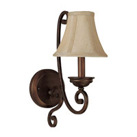 Capital Lighting Cumberland 1 Light Sconce in Burnished Bronze 1771BB-413