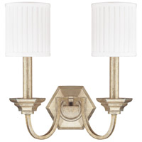 Fifth Avenue 2 Light 15 inch Winter Gold Sconce Wall Light