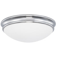 Capital Lighting 2032CH Signature 2 Light 13 inch Chrome Flush Mount Ceiling Light