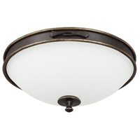 Capital Lighting 2067SY Wyatt 3 Light 17 inch Surrey Flush Mount Ceiling Light