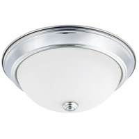 HomePlace 2 Light 13 inch Chrome Flush Mount Ceiling Light