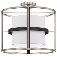 Capital Lighting 225241BT Tux 4 Light 16 inch Black Tie Semi-Flush Mount Ceiling Light