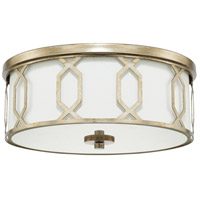 Signature 3 Light 16 inch Winter Gold Flush Mount Ceiling Light