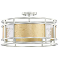 Capital Lighting 228341MX Signature 4 Light 19 inch Mixed Metal Semi-Flush Mount Ceiling Light