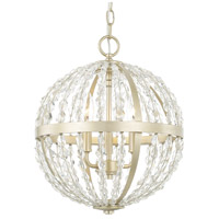 Camille 3 Light 14 inch Soft Gold Pendant Ceiling Light