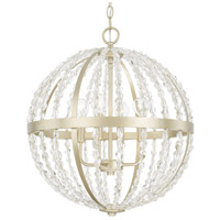 Camille 4 Light 19 inch Soft Gold Pendant Ceiling Light