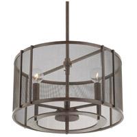 Capital Lighting 311131RS-664 Bennett 3 Light 15 inch Russet Pendant Ceiling Light