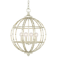 Capital Lighting 311841SF Signature 4 Light 16 inch Soft Gold Pendant Ceiling Light