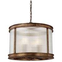 Reid 4 Light 18 inch Rustic Pendant Ceiling Light