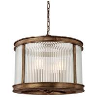 Capital Lighting 312042RT Reid 4 Light 18 inch Rustic Pendant Ceiling Light