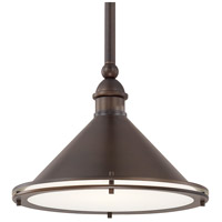 Langley 1 Light 13 inch Burnished Bronze Pendant Ceiling Light