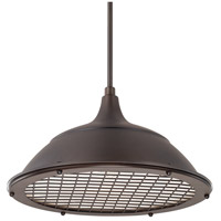 Signature 1 Light 18 inch Burnished Bronze Pendant Ceiling Light