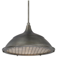 Signature 1 Light 18 inch Gunmetal Pendant Ceiling Light