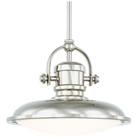 Signature LED 12 inch Polished Nickel Pendant Ceiling Light