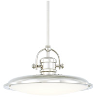 Signature LED 16 inch Polished Nickel Pendant Ceiling Light