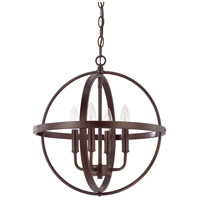 HomePlace 4 Light 17 inch Bronze Pendant Ceiling Light