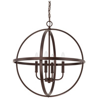 HomePlace 4 Light 23 inch Bronze Pendant Ceiling Light