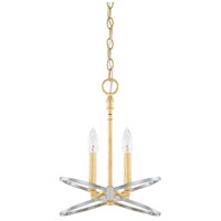 Fire and Ice 4 Light 12 inch Fire and Ice Pendant Ceiling Light